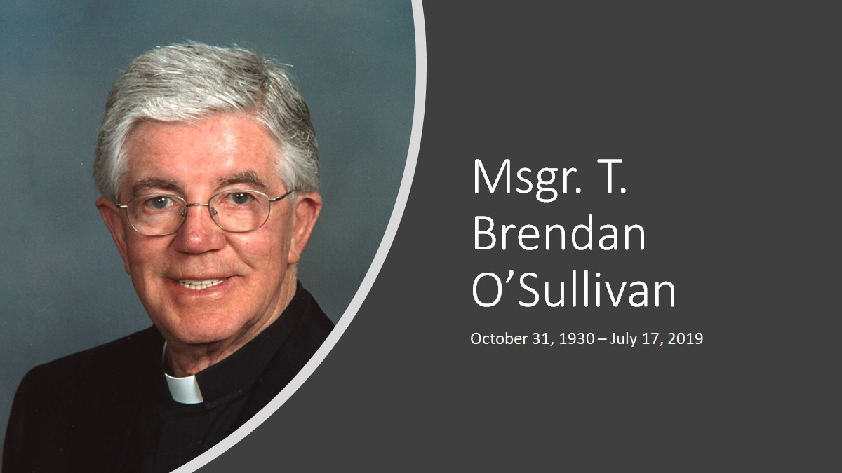 Msgr. O'Sullivan